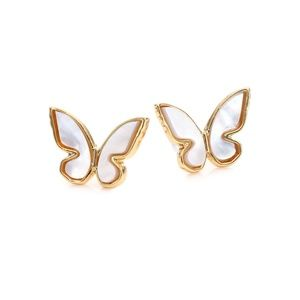 Kate Spade All A Flutter Mother Of Pearl Earrings